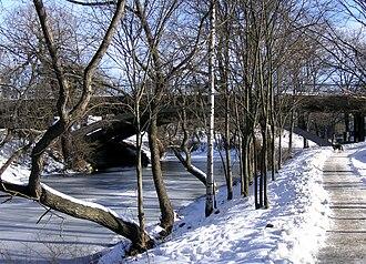 Karlbergskanalen - Karlbergskanalen in February 2006