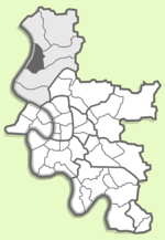 Kaiserswerth binnen district 5 van Düsseldorf