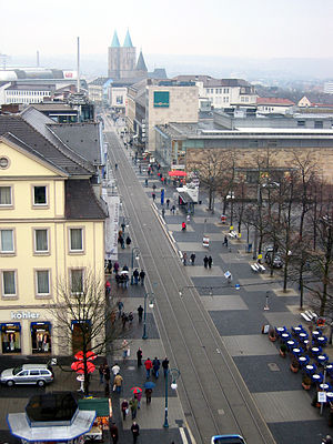 Kassel - Königsstrasse, the main shopping street