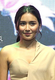 Kathryn Bernardo Filipino actress, model, endorser and recording artist