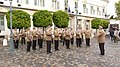 Katonazenekar a Sándor Palota előtt 2011.jpg