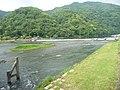 Katsura (Oi) River in Arashiyama 08.jpg