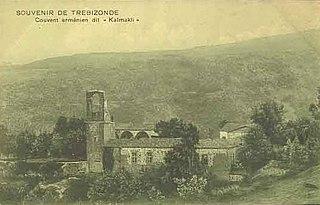 a ruined Armenian Apostolic monastery