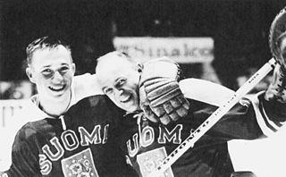 Matti Keinonen Finnish ice hockey player