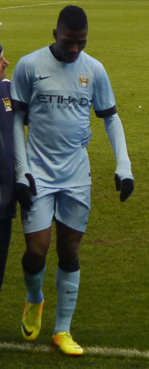 Kelechi Iheanacho - Iheanacho playing for Manchester City in 2015