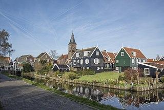 Marken Village in North Holland, Netherlands