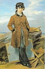 Hermann Kersting als Landschaftsmaler