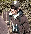 Kevin Holcomb, Wildlife Biologist at E.B. Forsythe NWR, conducts salt marsh field work. (4730514247).jpg