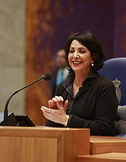 Moroccan born female elected head of the Dutch Parliament