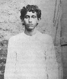 Kshudiram Bose close up image