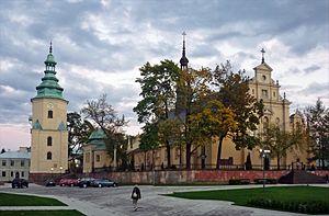Kielce - Image: Kielce Kirche 4