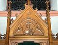 Kierch Diddeleng, Beichtstull Kartusch-101.jpg