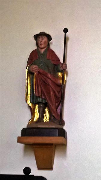 Hl Wendelin an der Wanseler Kierch