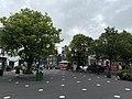 Kildare Cathedral Market Square, 2021-07-03.jpg