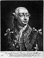 King George III. Mezzotint after T. Frye. Wellcome L0025613.jpg