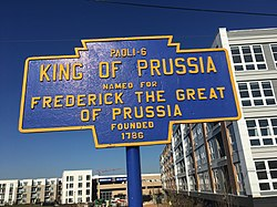 Official logo of King of Prussia, Pennsylvania