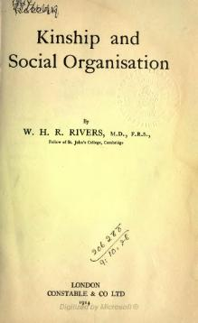 Kinship and social organisation.djvu