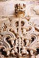 Kirtimukha relief decoration at the Jain temple in Lakkundi.JPG