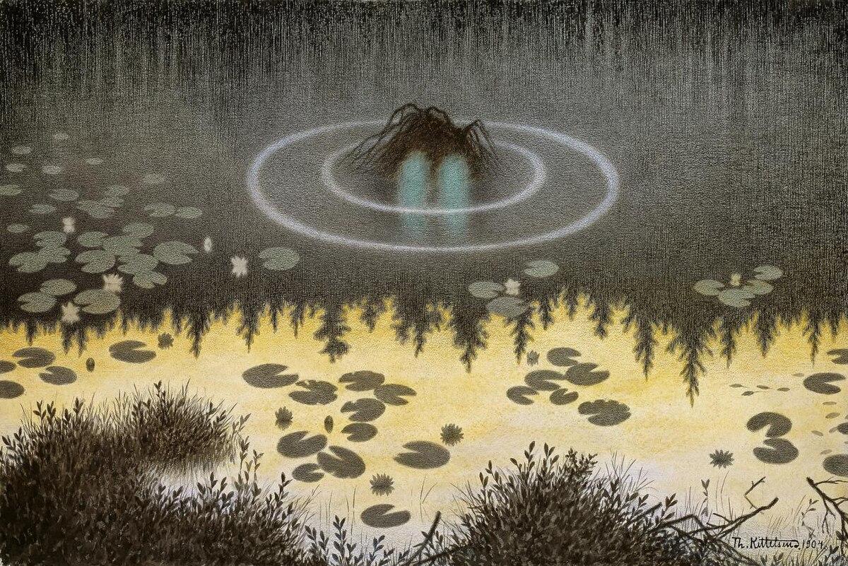 Foto bij Mythische wezens -Opdracht 1- Oude Rode Ogen