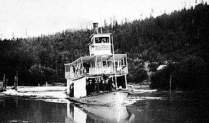 Klahowya (sternwheeler) - Image: Klahowya (sternwheeler) on Columbia River ca 1910