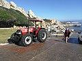 Kleinmond slipway with NSRI station 42 tractor and boat trailer IMG 20200531 142317.jpg