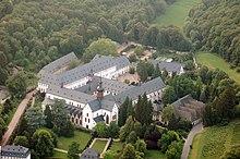 L'Abbazia di Eberbach a Eltville am Rhein in Assia (Germania), dove è stata girata parte del film