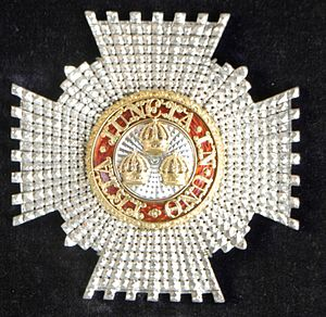 Edward Evans, 1st Baron Mountevans - KCB breast star