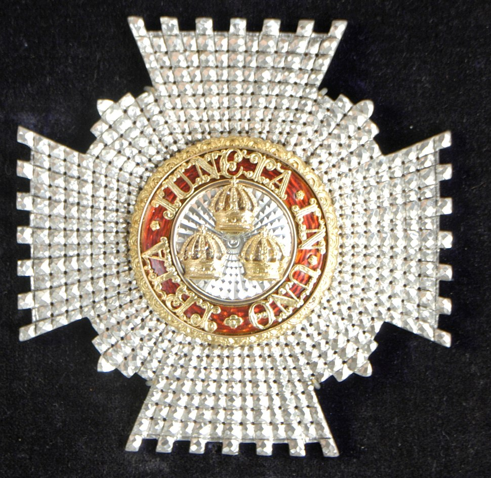 Knight Commander of the Bath star, awarded to Cecil Fane de Salis (1859-1948) in 1935
