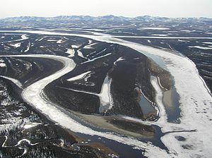 Kobuk River - Kobuk River west of Kiana, Alaska