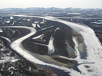 Kobuk River - Kobuk River west of Kiana, Alaska