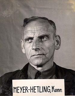 Konrad Meyer SS Officer