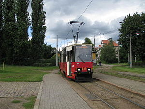 Trams in Bydgoszcz - Konstal 805Na