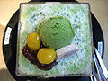 Korean shaved ice-Green tea bingsu-04.jpg