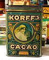 Korff's Cacao tin, 2,5Kilo Netto, pic1.JPG