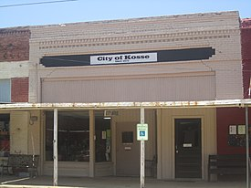 Kosse, TX, City Office IMG 6228.JPG