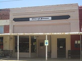 Kosse, Texas - Kosse City Office