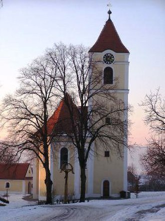 Cetkovice - Image: Kostel sv. Filipa a Jakuba