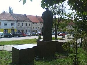 Tomislavgrad - Mijat Tomić Street in Tomislavgrad