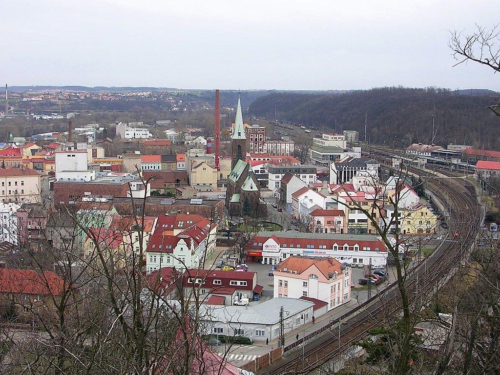 Kralupy nad Vltavou - místopis