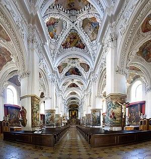 Kremsmünster Abbey - Abbey Church interior