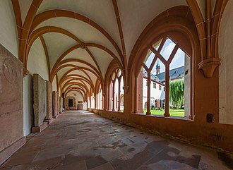 Cloister - Image: Kreuzgang, Kloster Eberbach 20140903 1