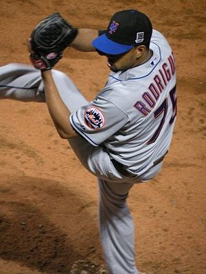 A picture of Francisco Rodriguez I took Openin...