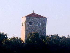 Ulcinj Castle - The Tower of Ballshaj/Balšić.