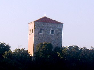 Ulcinj Castle - The Tower of Ballshaj/Balšić.