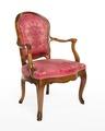 Länstol, 1700-talets mitt - Hallwylska museet - 110066.tif