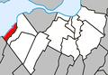 Léry Quebec location diagram.PNG