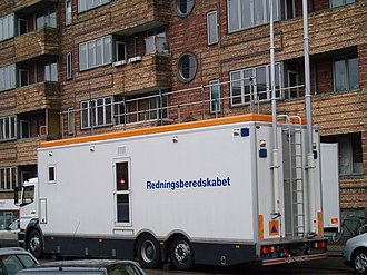 Danish Emergency Management Agency - The Command and Communications Module is often used to support major police operations