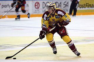Damien Riat Swiss ice hockey player