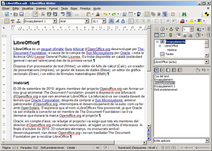 LibreOffice Writer 4.0