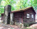 LRWalls-Chambers Park Log Cabin Ext 4.jpg